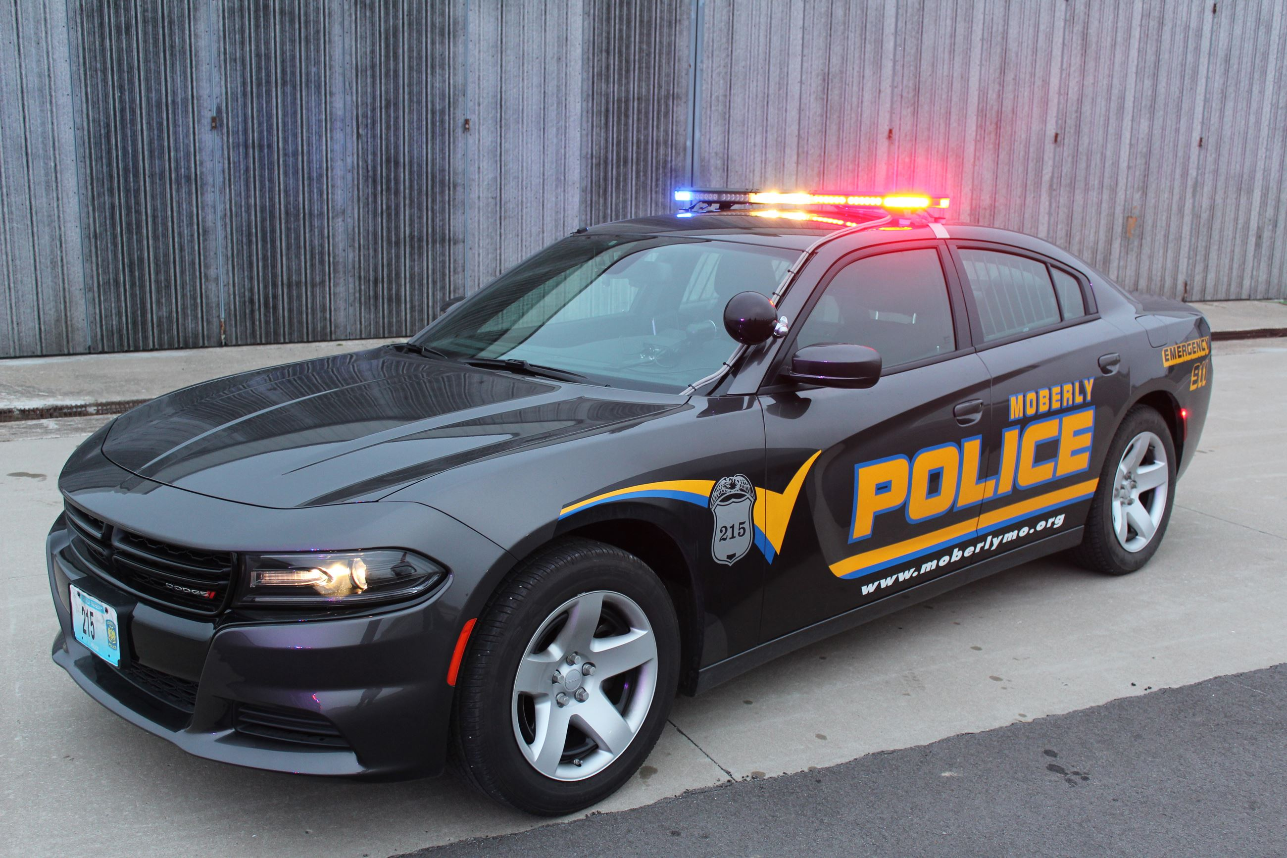 Image of Moberly Patrol Car