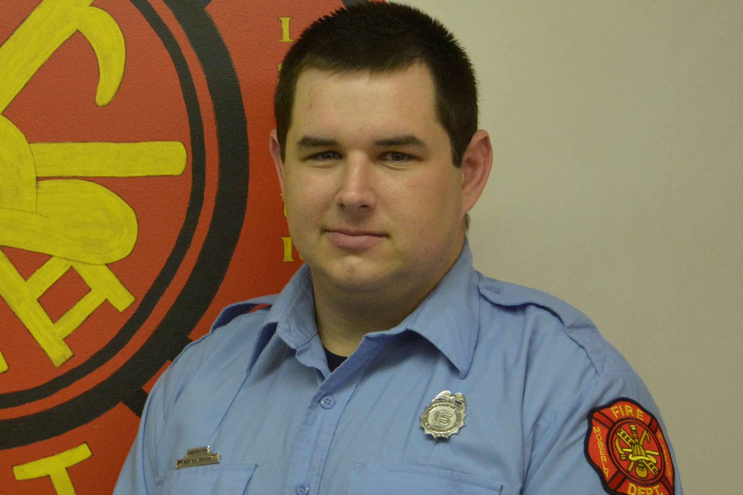 Ben Wolverton Firefighter