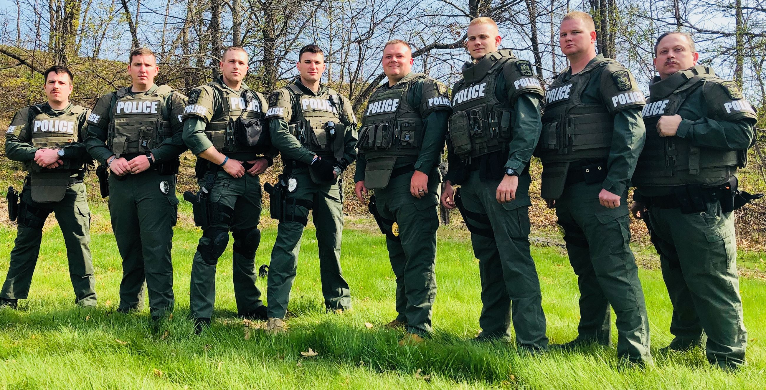 Image of Moberly Police SWAT Officers