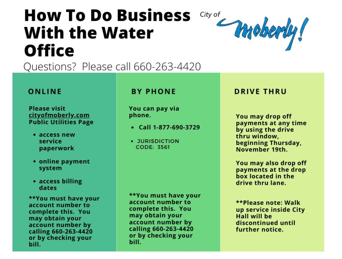 11-19 how to do business with water office